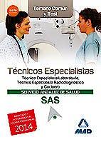 Portada del libro 9788467698213 Tecnicos Especialistas Servicio Andaluz de Salud (Sas). Temario Comun y Test