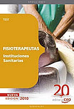 Portada del libro 9788468101538 Fisioterapeutas Instituciones Sanitarias. Test