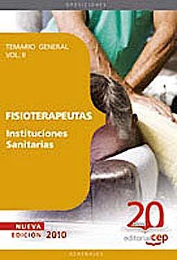 Portada del libro 9788468101590 Fisioterapeutas Instituciones Sanitarias. Temario, Vol. II