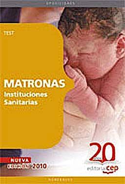 Portada del libro 9788468101651 Matronas Instituciones Sanitarias. Test