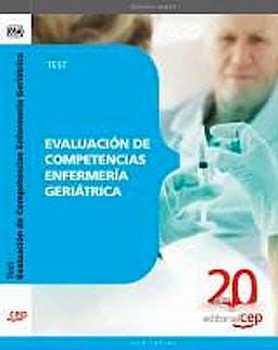 Portada del libro 9788468110974 Evaluacion de Competencias Enfermeria Geriatrica. Test