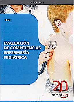 Portada del libro 9788468113623 Evaluacion de Competencias Enfermeria Pediatrica. Test