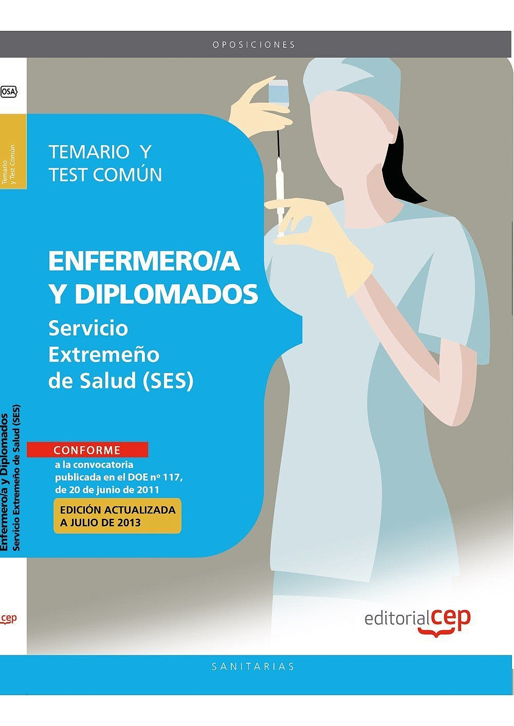 Portada del libro 9788468147604 Enfermero/a y Diplomados Servicio Extremeño de Salud (Ses). Temario y Test Parte Comun