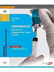 Portada del libro 9788468151601 Enfermero/a del Servicio Aragones de Salud. Salud. Temario. Vol I