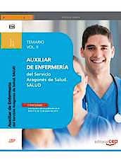 Portada del libro 9788468151687 Auxiliar de Enfermeria del Servicio Aragones de Salud. Temario, Vol. II