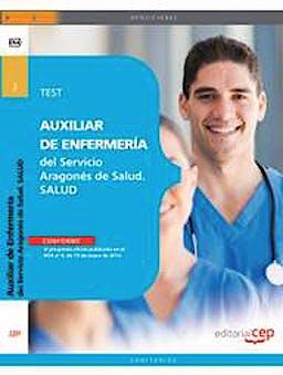 Portada del libro 9788468151694 Auxiliar de Enfermeria del Servicio Aragones de Salud. Test