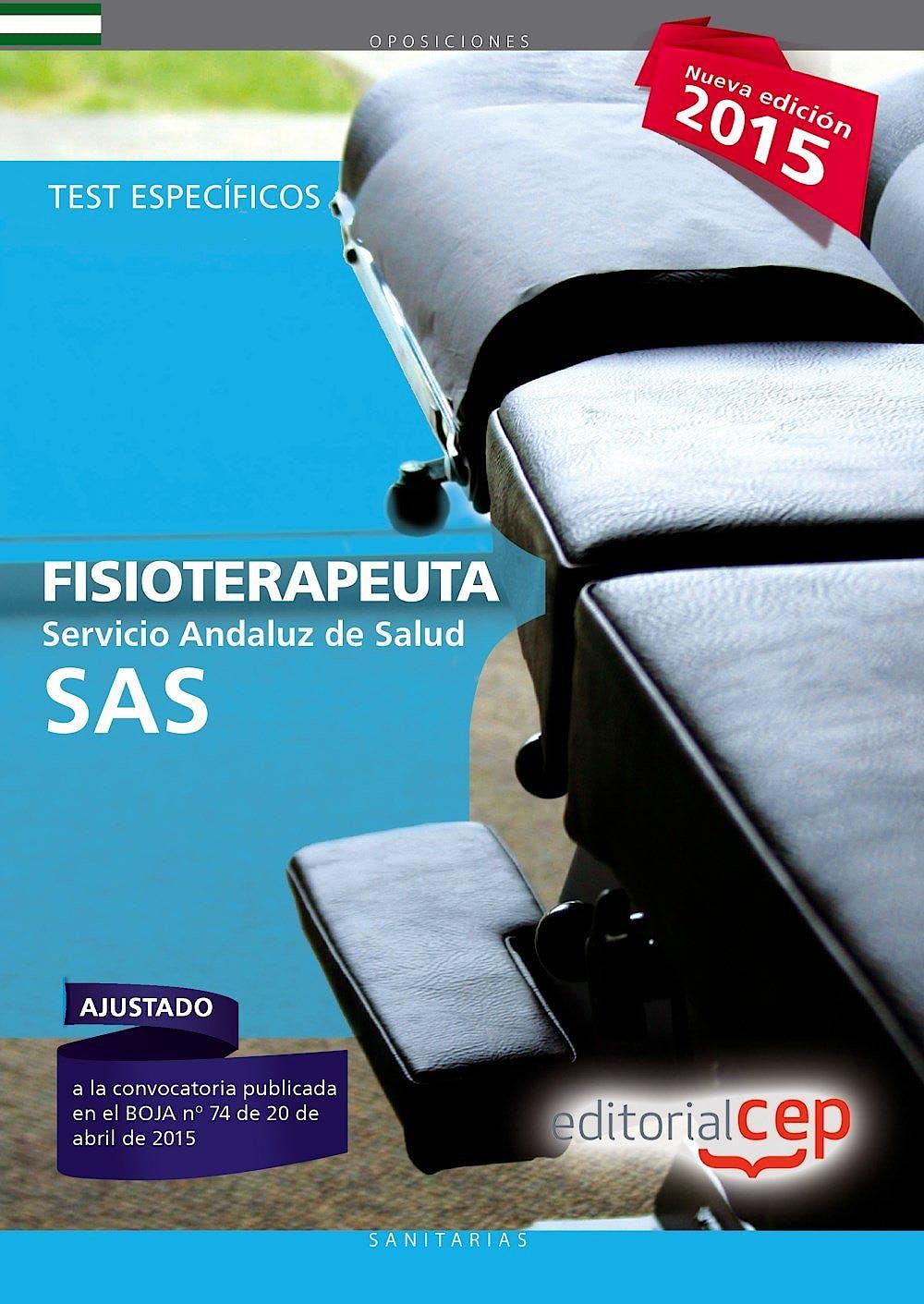 Portada del libro 9788468157573 Fisioterapeuta Servicio Andaluz de Salud (SAS). Test Específico