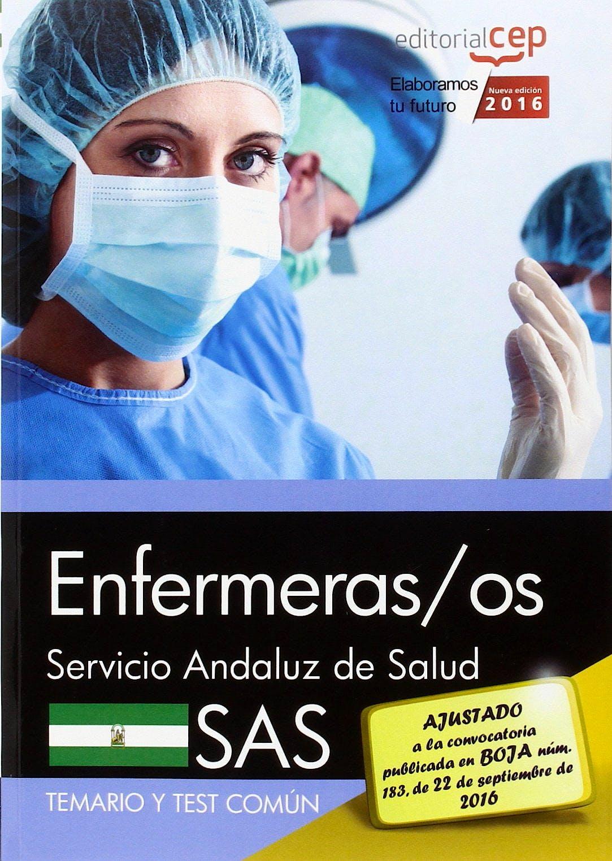 Portada del libro 9788468167879 Paquete Enfermeras/os Servicio Andaluz de Salud (Sas) (Contiene Temarios Comun y Especifico, Test y Simulacros de Examen)