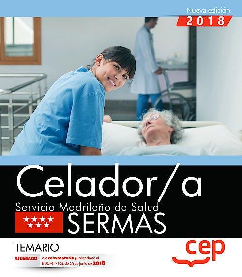Portada del libro 9788468172514 Celador/a Servicio Madrileño de Salud (SERMAS). Temario