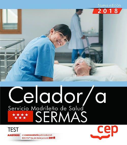 Portada del libro 9788468172521 Celador/a Servicio Madrileño de Salud (SERMAS). Test