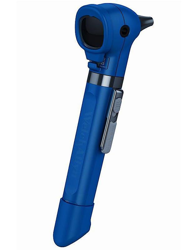 Otoscopio Welch Allyn Pocket Plus LED Color Azul sin Estuche