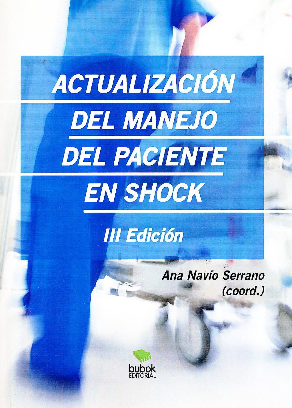 Portada del libro 9788468652931 Actualización del Manejo del Paciente en Shock