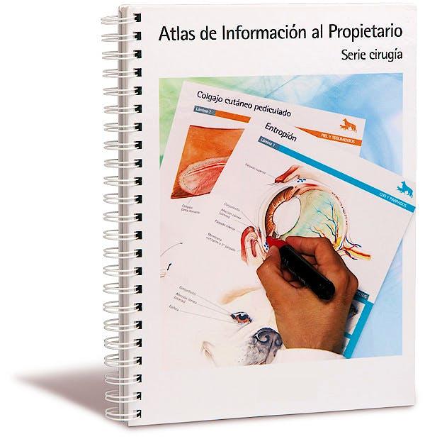 Portada del libro 9788469269145 Atlas de Informacion al Propietario. Serie Cirugia