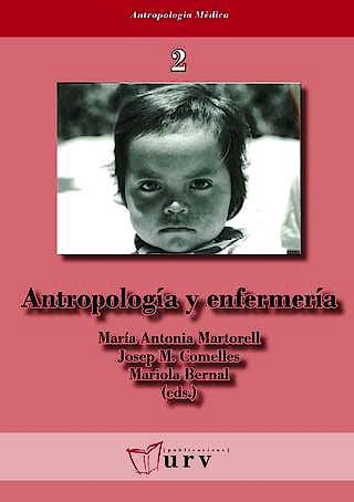 Portada del libro 9788469272664 Antropologia y Enfermeria