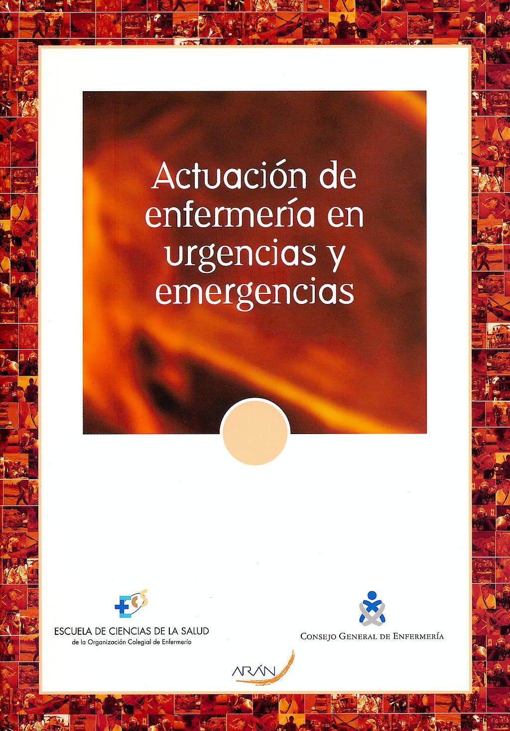 Portada del libro 9788469378830 Actuacion de Enfermeria en Urgencias y Emergencias
