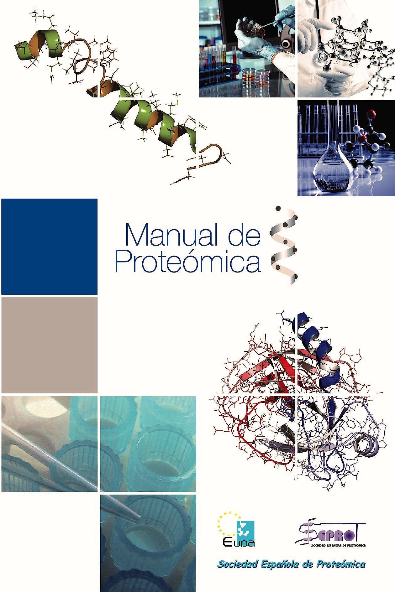 Portada del libro 9788469712818 Manual de Proteómica, 2 Vols. (Formato PDF)