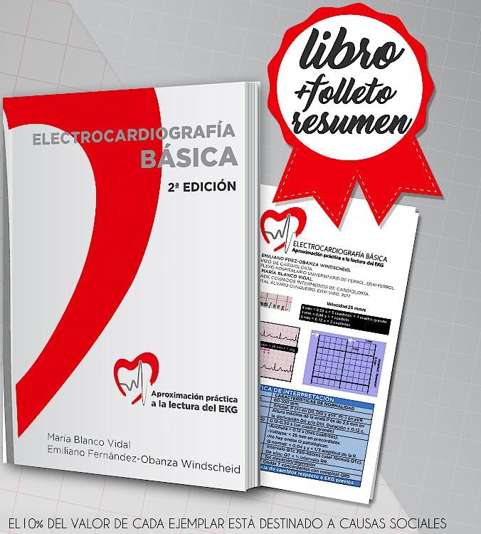 Portada del libro 9788469728406 Electrocardiografía Básica. Aproximación Práctica a la Lectura del EKG + Cuadernillo