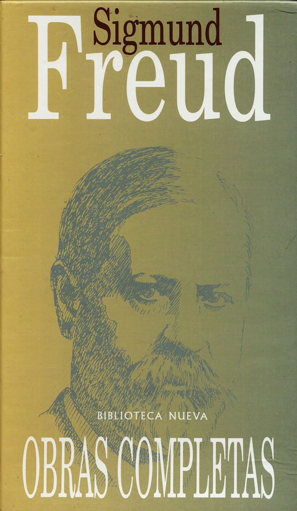 Portada del libro 9788470304255 Obras Completas de Sigmund Freud, 3 Vols.