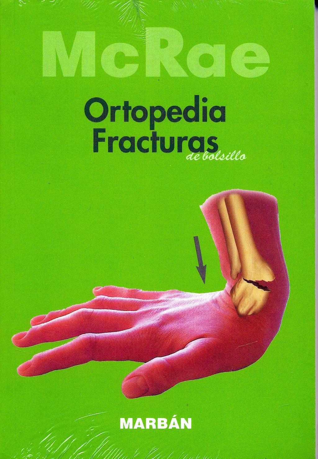 Portada del libro 9788471013125 Ortopedia y Fracturas de Bolsillo