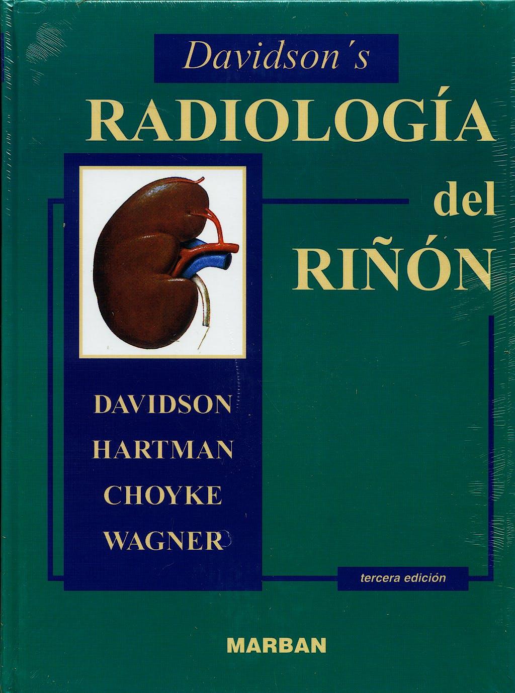 Portada del libro 9788471013279 Davidson's Radiologia del Riñon
