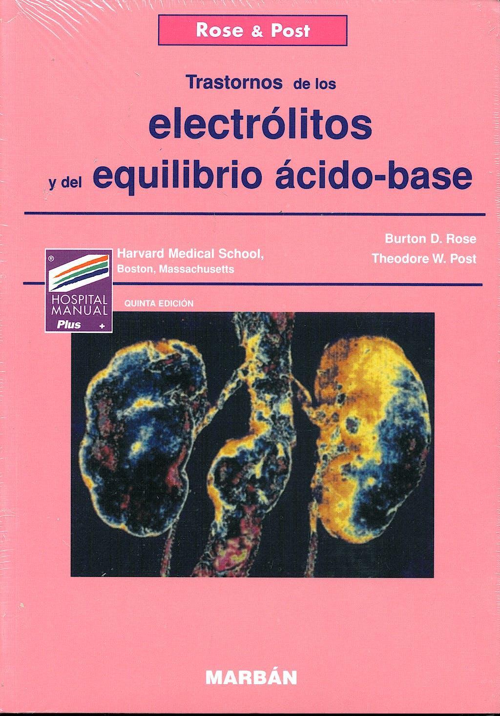 Portada del libro 9788471013521 Electrólitos y Equilibrio Ácido-Base