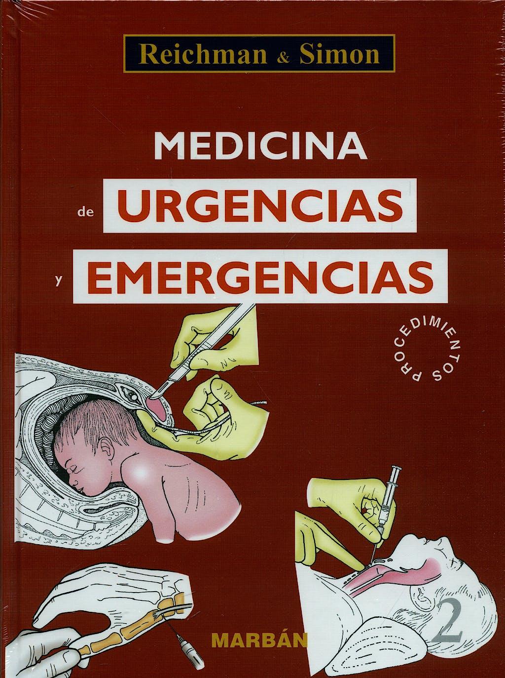 Portada del libro 9788471014672 Medicina de Urgencias y Emergencias, 2 Vols.