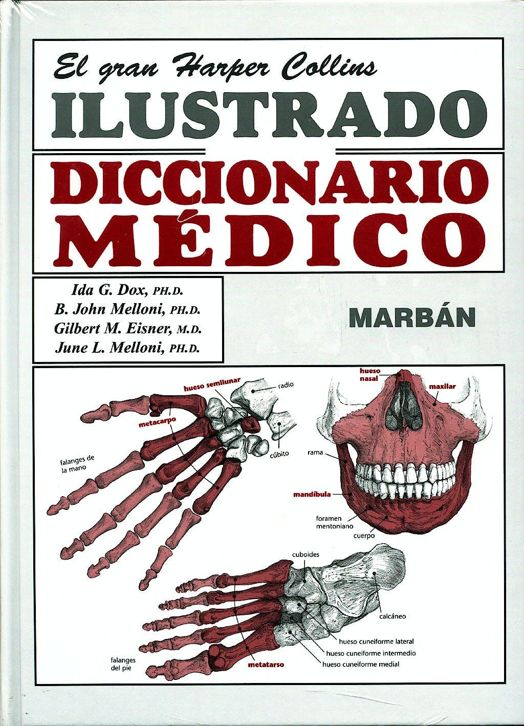 Portada del libro 9788471014818 El Gran Harper Collins Ilustrado Diccionario Medico