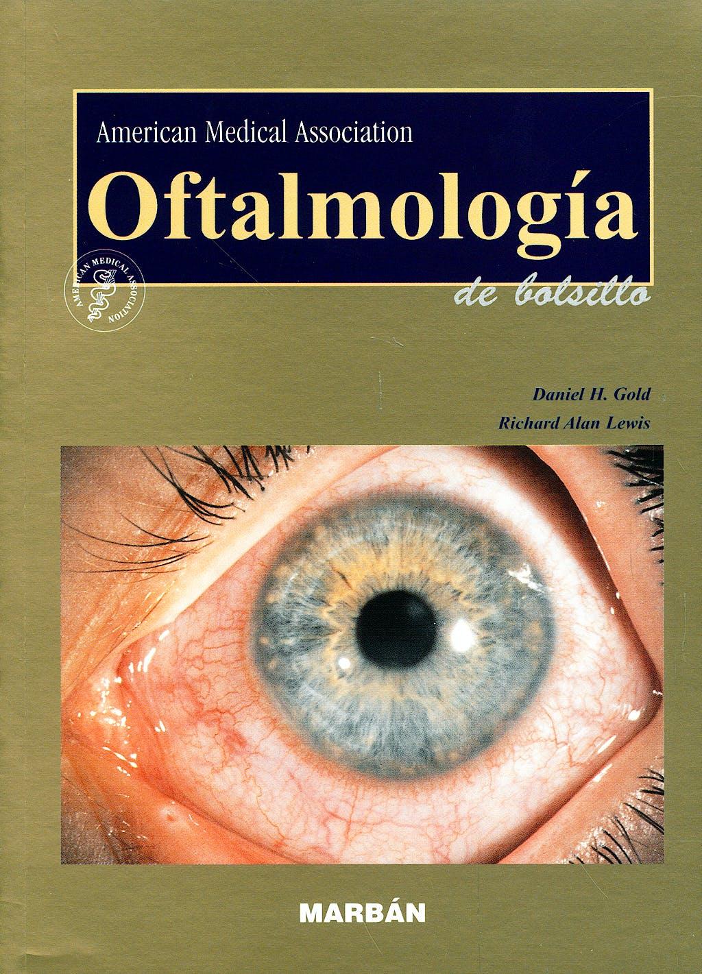 Portada del libro 9788471015099 Oftalmología de Bolsillo