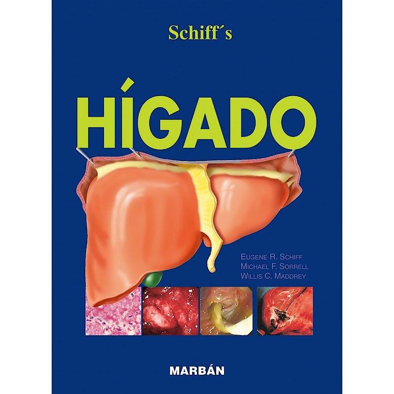 Portada del libro 9788471015389 Schiff's Hígado