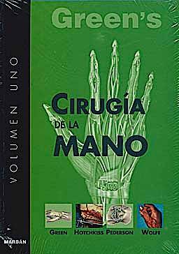 Portada del libro 9788471015433 Green's Cirugía de la Mano, 2 Vols. (Edición de Bolsillo)