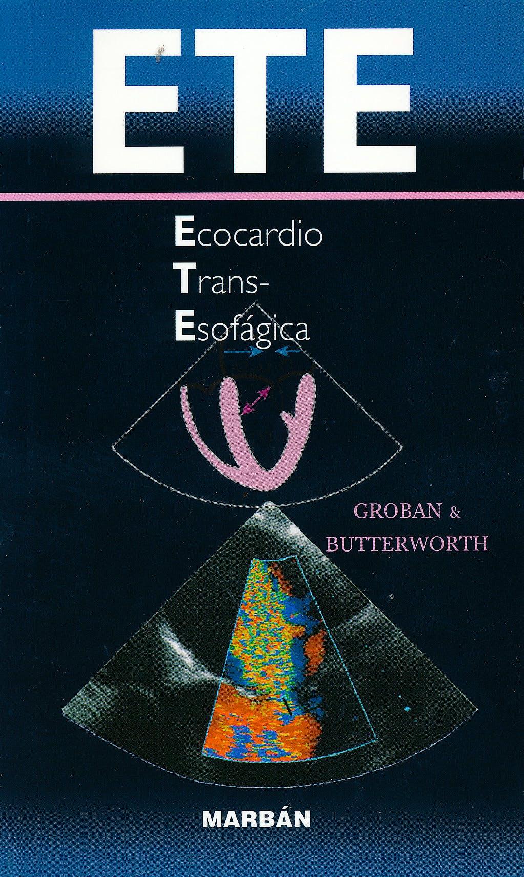 Portada del libro 9788471017130 ETE Ecocardio Transesofágica