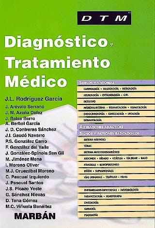 Portada del libro 9788471018212 Diagnóstico y Tratamiento Médico DTM Manual (Tapa Blanda)