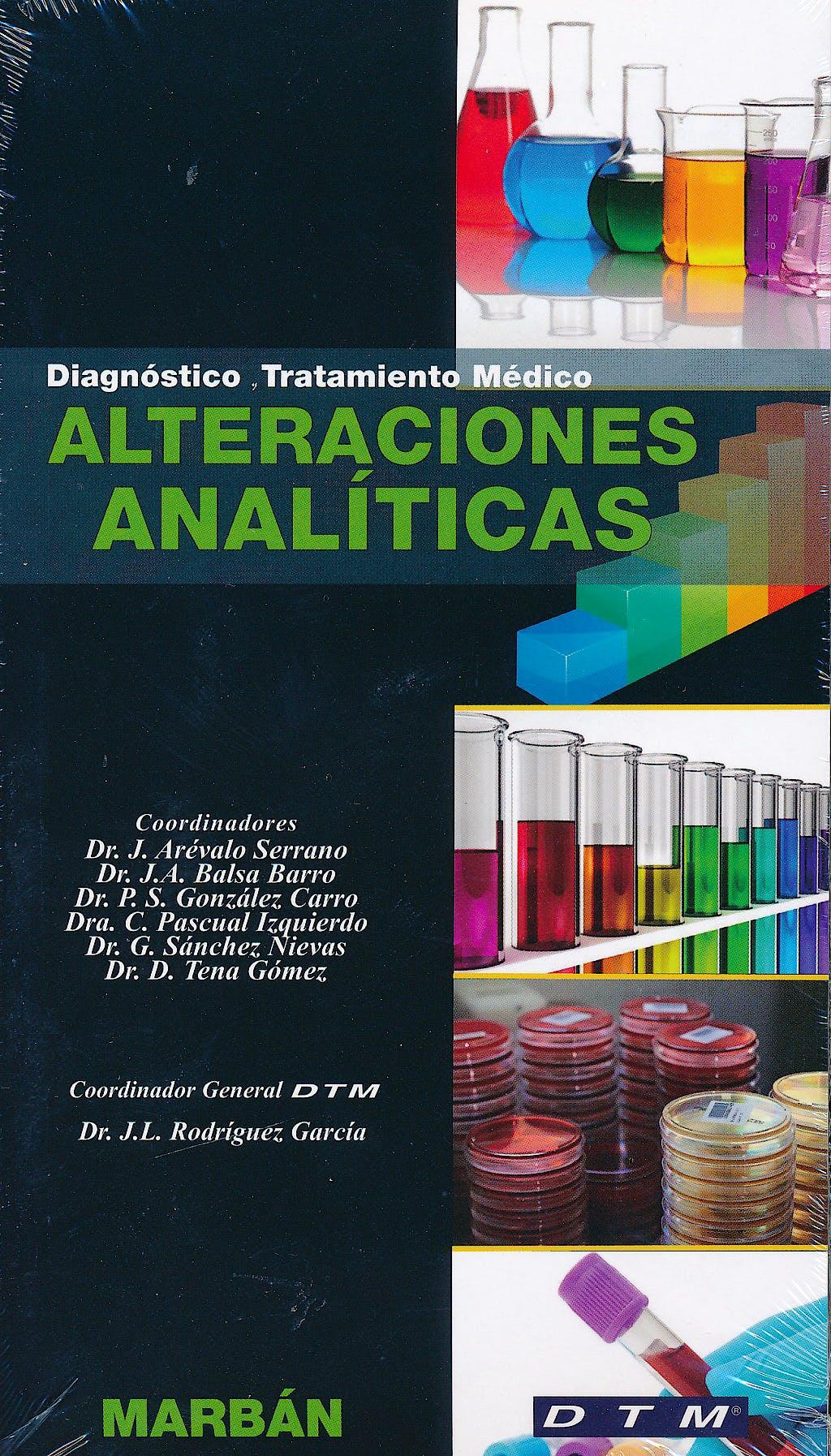 Portada del libro 9788471018519 Alteraciones Analíticas. Diagnóstico y Tratamiento Médico DTM