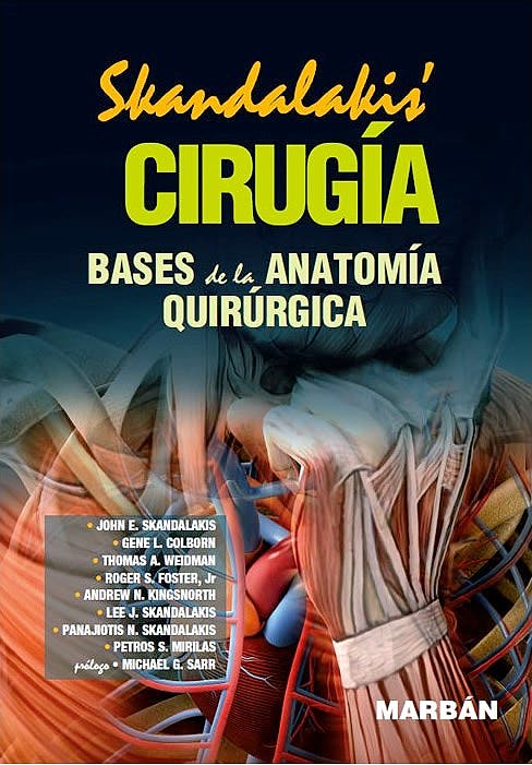 Portada del libro 9788471019264 Skandalakis Cirugía (Tapa Dura)