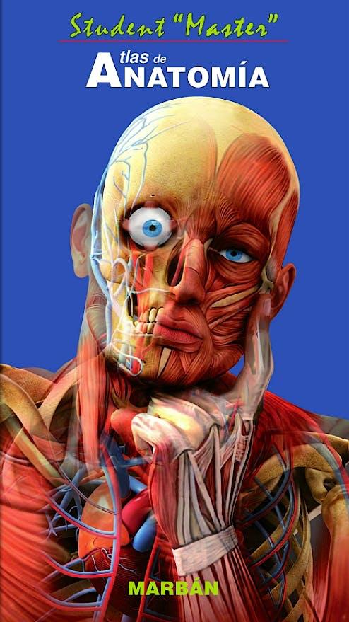 Portada del libro 9788471019424 Atlas de Anatomía Student Master