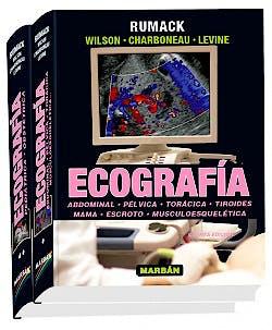 Portada del libro 9788471019721 Ecografía, 2 Vols.