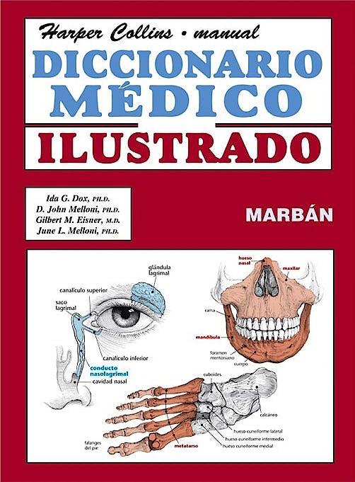 Portada del libro 9788471019806 Diccionario Médico Ilustrado. Harper Collins Manual