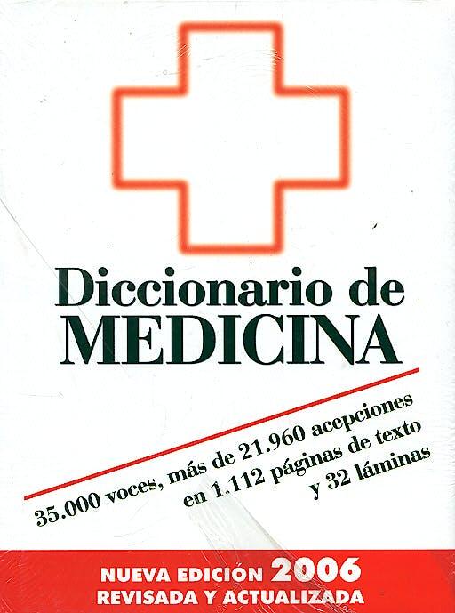 Portada del libro 9788471023834 Diccionario de Medicina