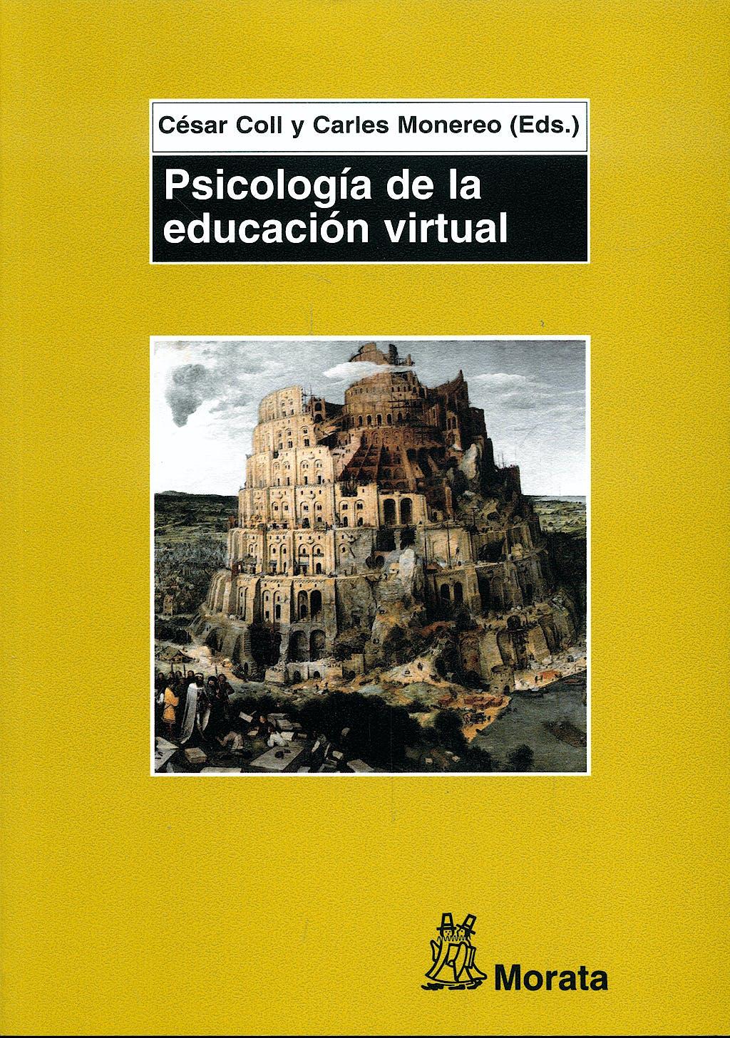 Portada del libro 9788471125194 Psicologia de la Educacion Virtual