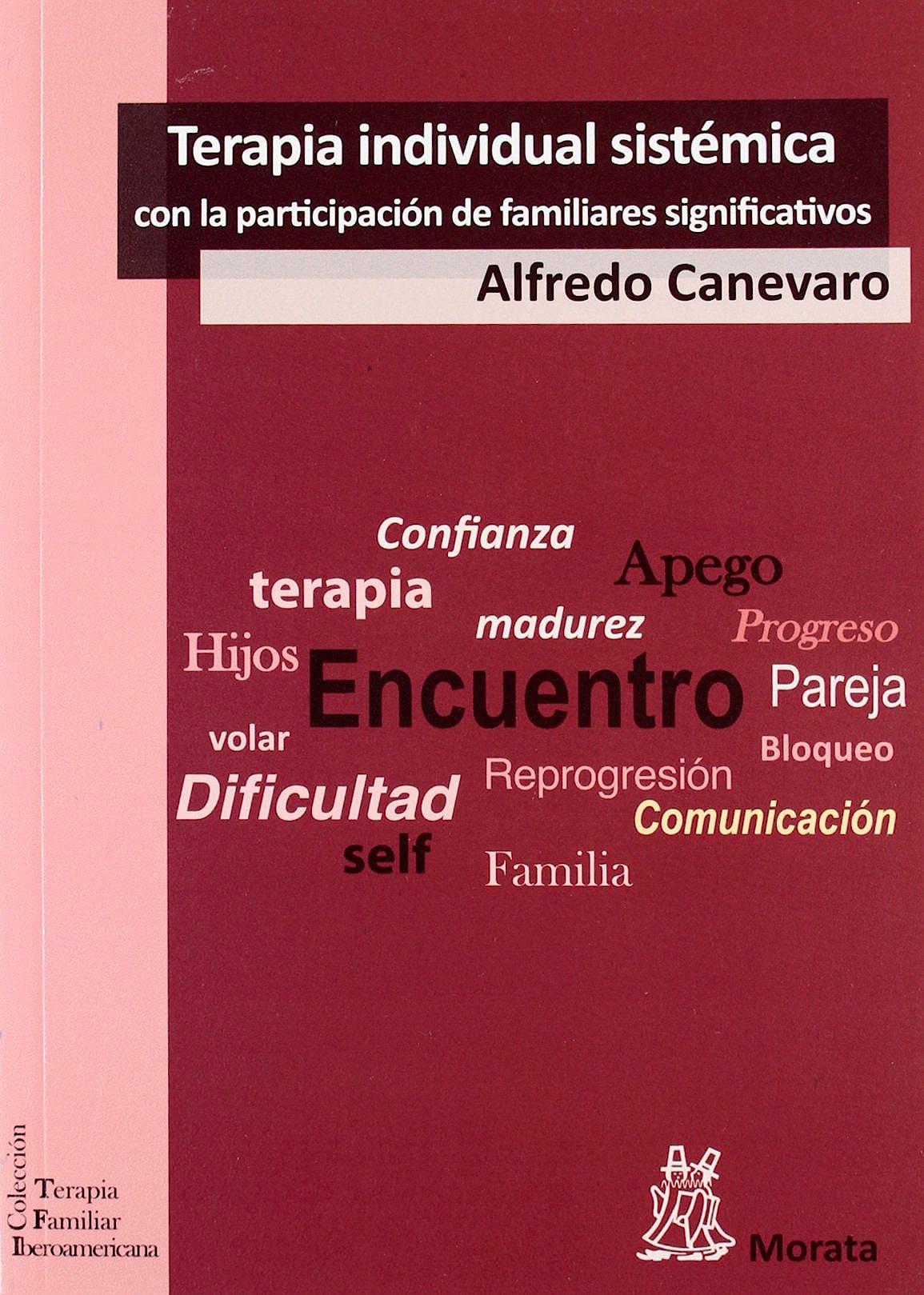 Portada del libro 9788471126733 Terapia Individual Sistemica con la Participacion de los Familiares Significativos
