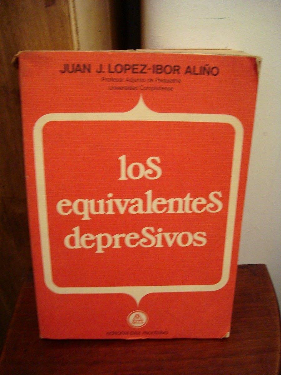 Portada del libro 9788471210999 Los Equivalentes Depresivos