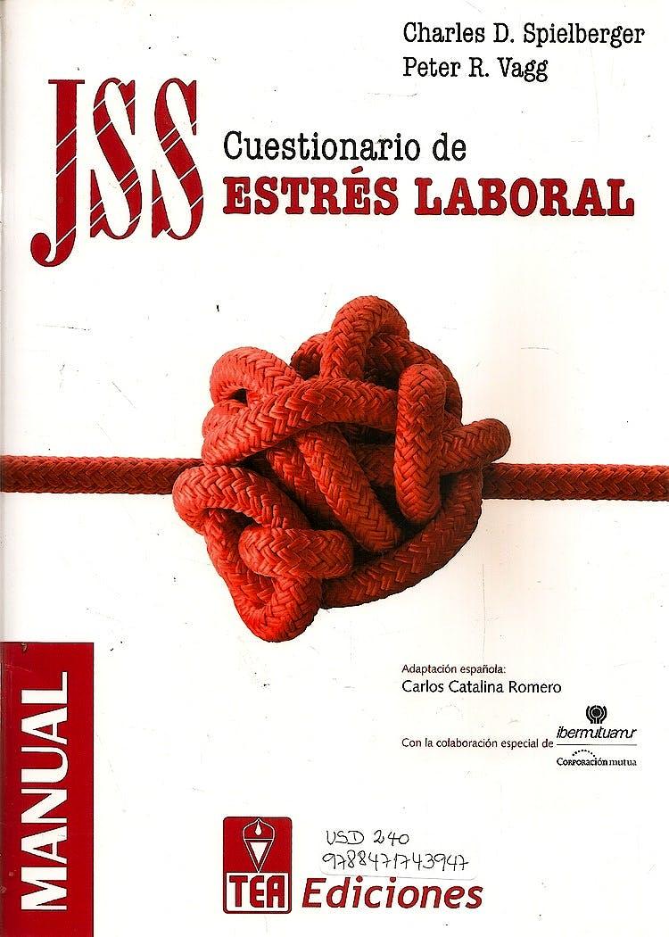 Portada del libro 9788471743947 JSS. Cuestionario de Estrés Laboral (Kit Corrección)