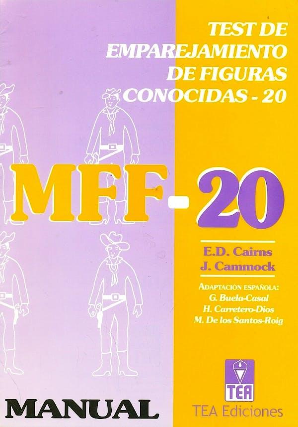 Portada del libro 9788471748164 MFF-20 Test de Emparejamiento de Figuras Conocidas (Juego Completo)