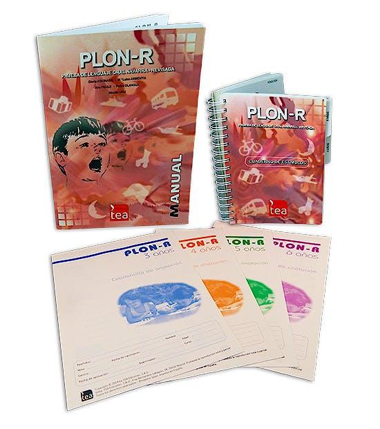 Portada del libro 9788471748393 PLON-R Prueba de Lenguaje Oral Navarra (Juego Completo)