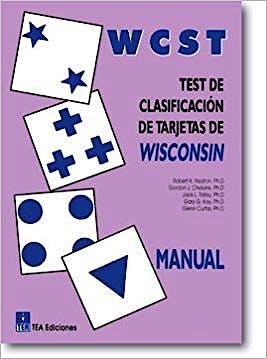 Portada del libro 9788471749963 WCST - Test de Clasificación de tarjetas de Wisconsin (Juego Completo)