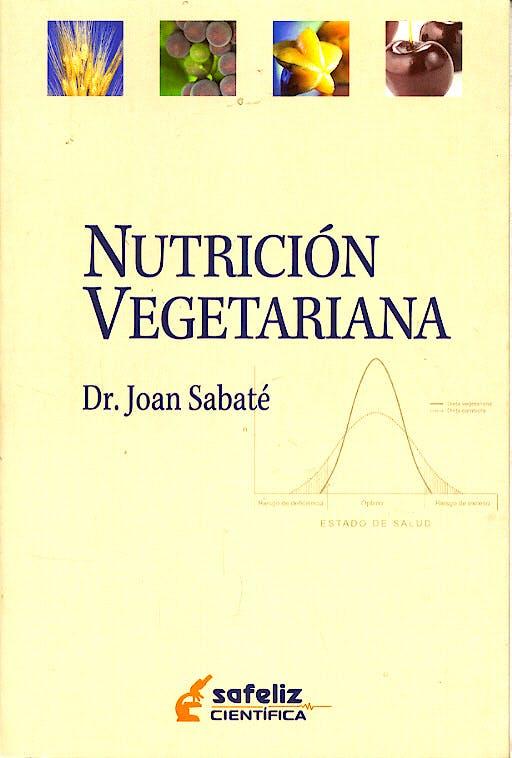 Portada del libro 9788472081192 Nutricion Vegetariana