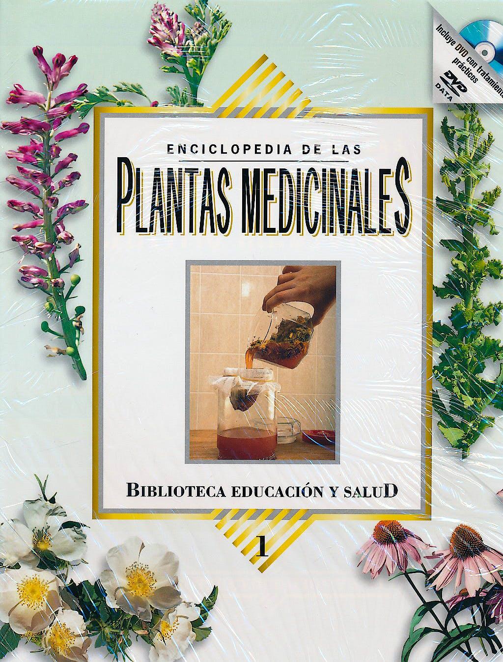 Portada del libro 9788472081512 Enciclopedia de las Plantas Medicinales, 2 Tomos + Dvd
