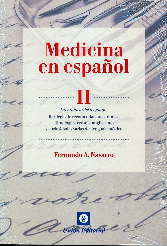 Portada del libro 9788472096899 Medicina en Español II