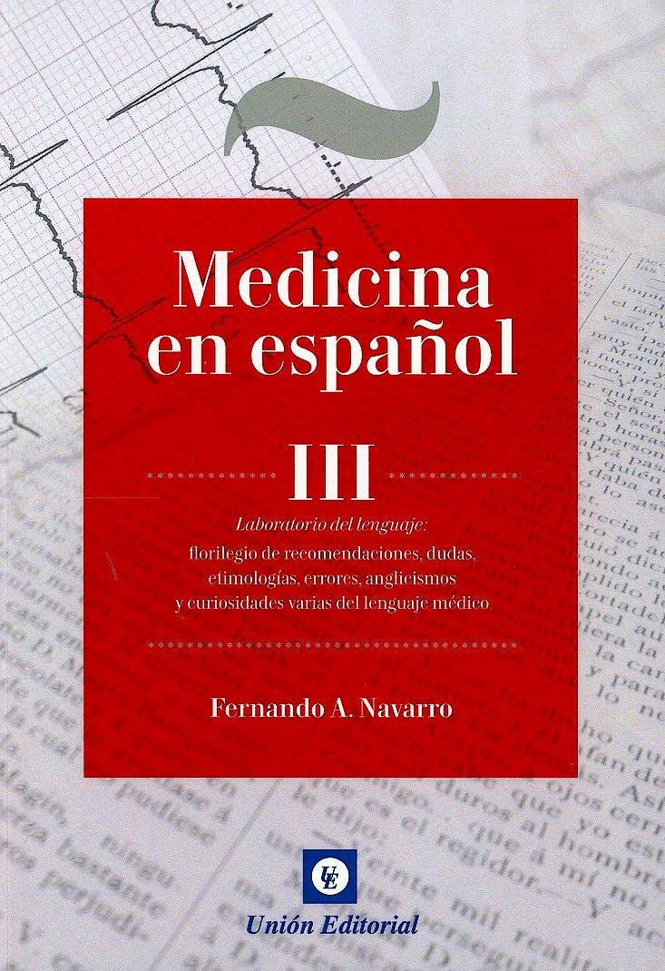 Portada del libro 9788472097223 Medicina en Español III