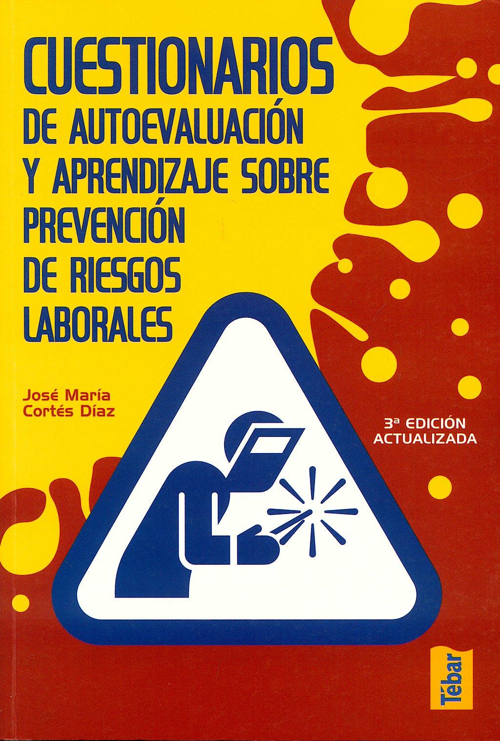 Portada del libro 9788473603164 Cuestionarios de Autoevaluacion y Aprendizaje sobre Prevencion
